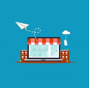 Dessin de l'e-commerce